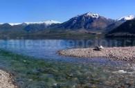 Ruisseau Futa Liu, lac Meliquina