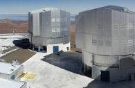Plate-forme au sommet du Cerro Paranal - Crédit ESO G. Hüdepohl