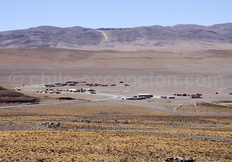 Paso de Jama, frontière Argentine Chili. 4.277 mètres