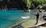 Pêche à la mouche dans les rivières de Patagonie