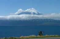 Le Volcan Osorno et le Lac Llanquihue