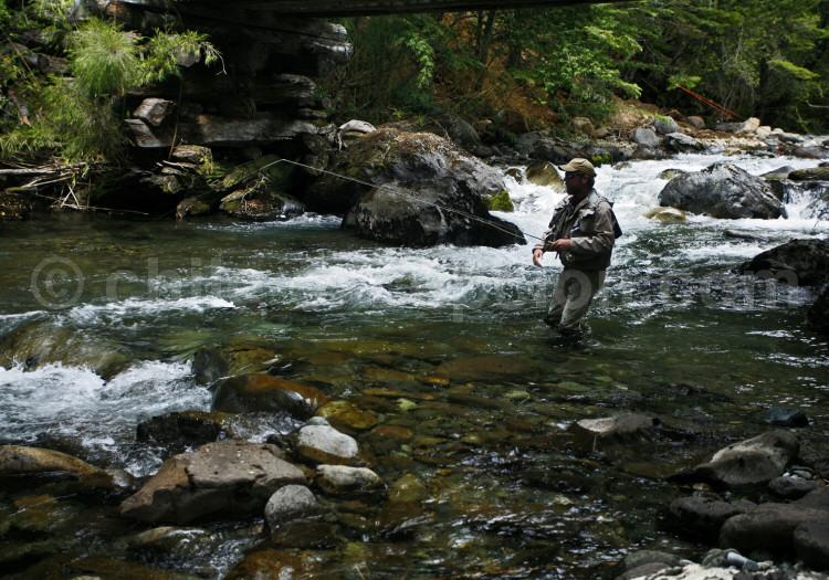 Journée de pêche sur le Río Feutaleufú