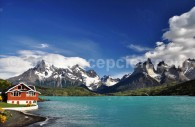 Parc Torres del Paine, lac Pehoe chili