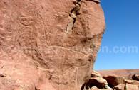 Pétroglyphes Hierbas Buenas, Atacama
