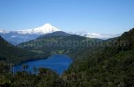 Parc national Huerquehue et volcan Villarrica