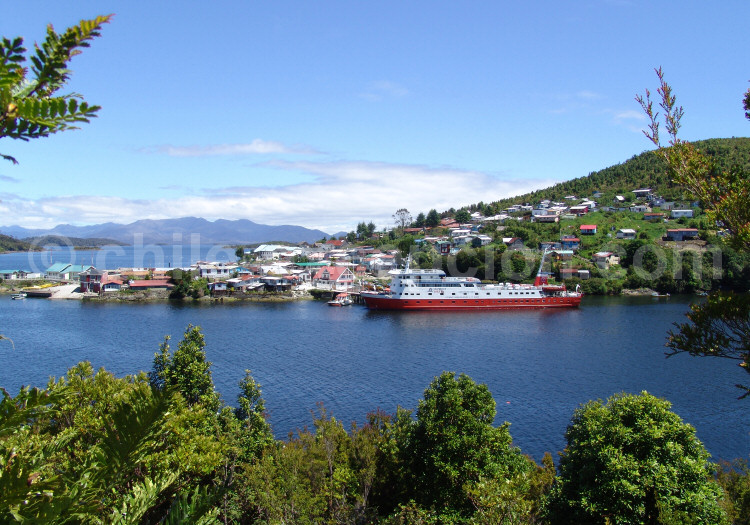 Halte à Puerto Aguirre