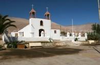 Église de Poconchile, vallée de Lluta