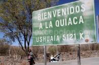 Ville La Quiaca, Argentine. Frontière avec Villazon, Bolivie.