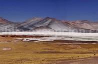 Salar de Aguas Calientes, route du col de Sico