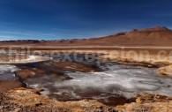 Salar de Quisquiro, Route du Paso de Jama
