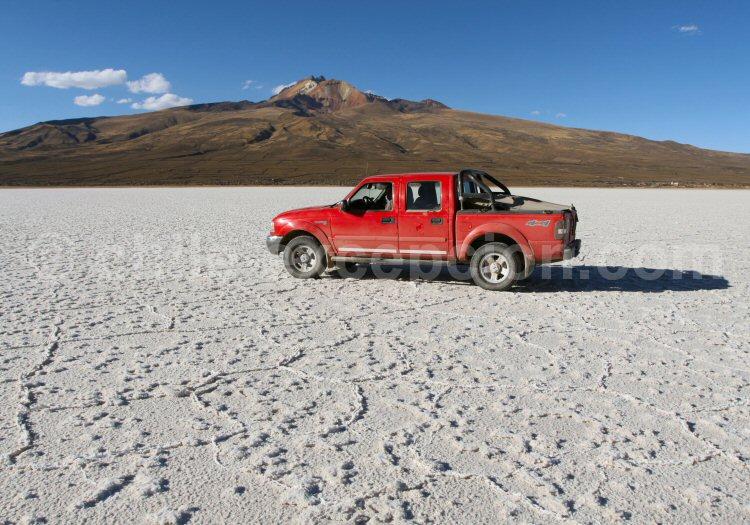 Salar de Uyuni, Volcan Tunupa, Coquesa