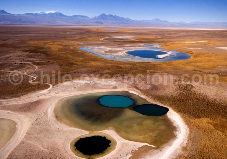 Salar d'Atacama vu du ciel
