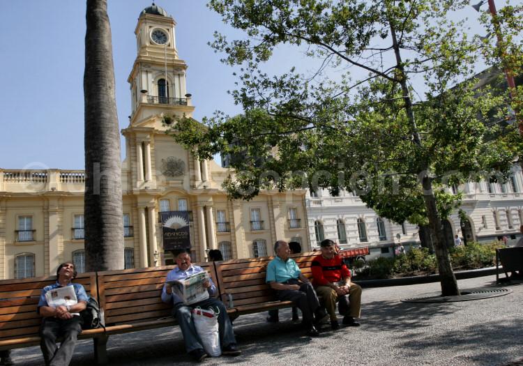 Palacio de la Real Audiencia, Plaza de Armas, Santiago