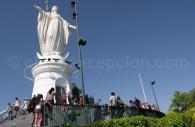 Vierge du Cerro San Cristóbal, Santiago du Chili