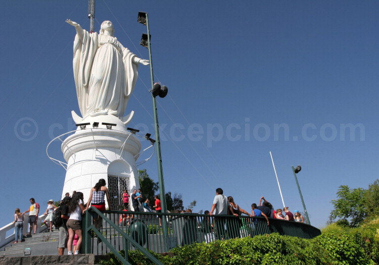 Vierge du Cerro San Cristóbal