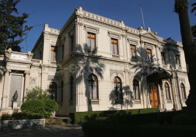 Palacio Cousiño, Parque Almagro, Santiago