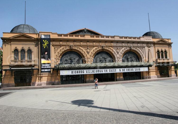 Centro Cultural Estación Mapocho, Santiago