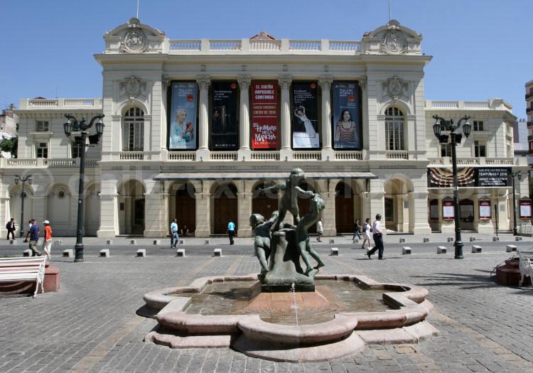 Théâtre municipal, Santiago