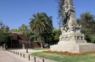 Estatua a la Gloria, Parque Forestal, Santiago