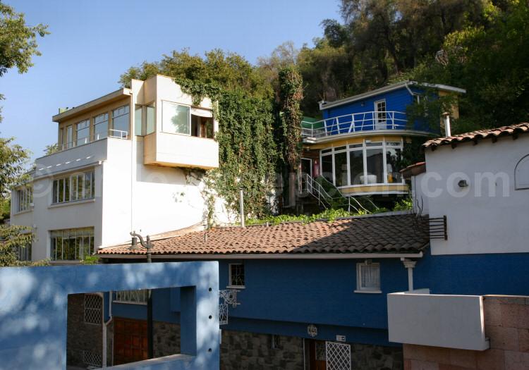 Maison de Pablo Neruda à Santiago