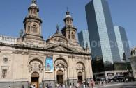 Cathédrale, Place d'Armes, Santiago du Chili