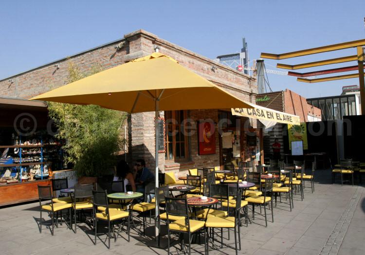Quartier Bella Vista, Patio Bella Vista, Santiago