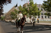 Défilé sur la Place d'Armes Santiago