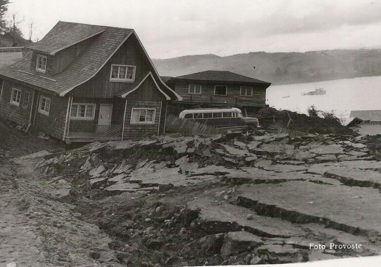 Tremblement de Terre de 1960, Valdivia, Chili