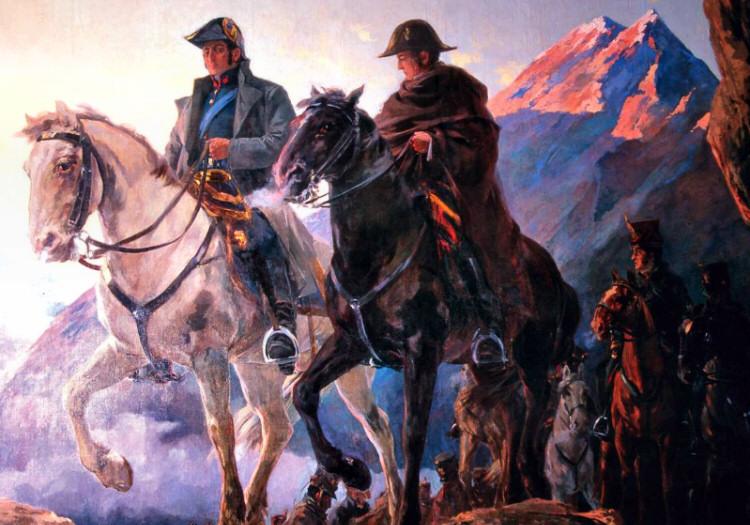 San Martín et O'Higgins, traversée des Andes