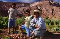 Cultivateurs aux environs de San Pedro de Atacama