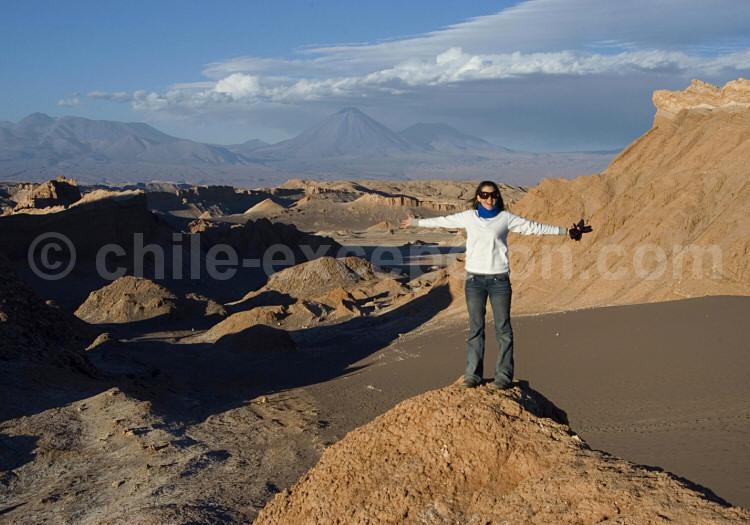 Dans les environs de San Pedro de Atacama, Chili