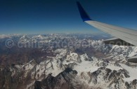 Vol au dessus des Andes