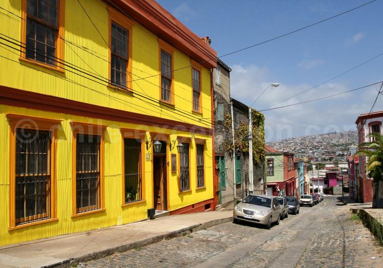 Hôtel Acontraluz, Cerro Concepción, Valparaíso