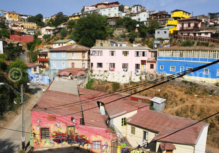 Cerro Cárcel depuis le Cerro Panteón