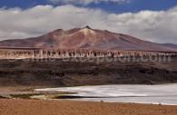 Désert de Tara et volcan Zapaleri