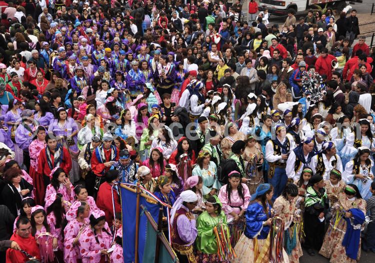 Fiesta de la Virgen Carmen avec Chile Excepción