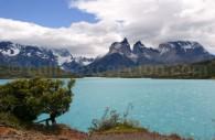 Lac Pehoe, Cornes du Paine, parc Torres del Paine