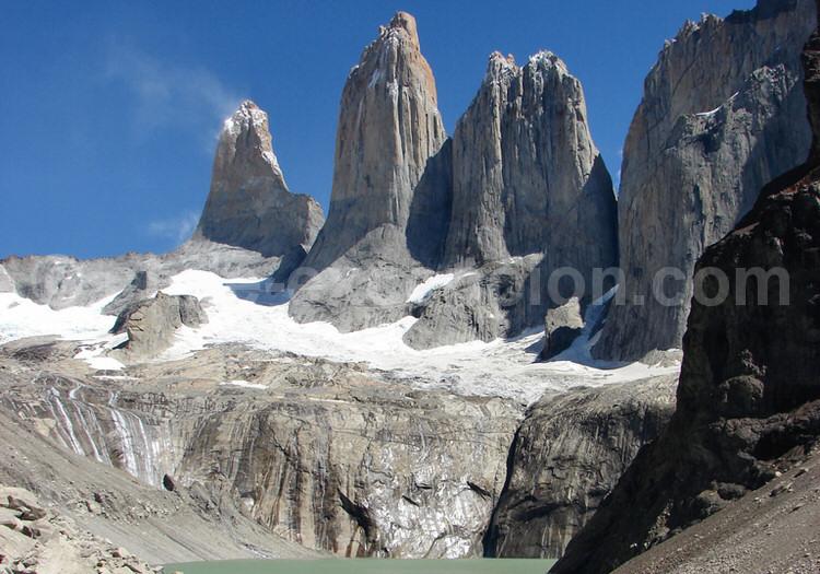 Tours du Paine, lagune Las Torres