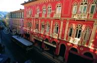 Couleurs de Valparaíso dans la ville basse