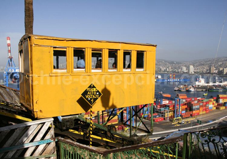 Ascensor Artillería, Cerro Artillería, Valparaíso
