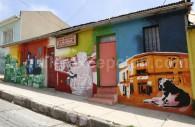 L'art mural, Cerro Bella Vista, Valparaíso