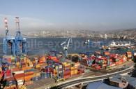 Port marchand et baie de Valparaíso