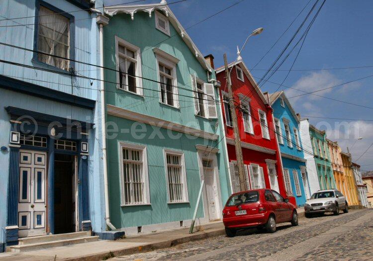 Valparaíso, Cerro Concepción, rue San Enríque
