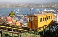 La baie de Valparaiso, Chili