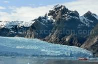 Lagune et glacier ou Ventisquero San Rafael