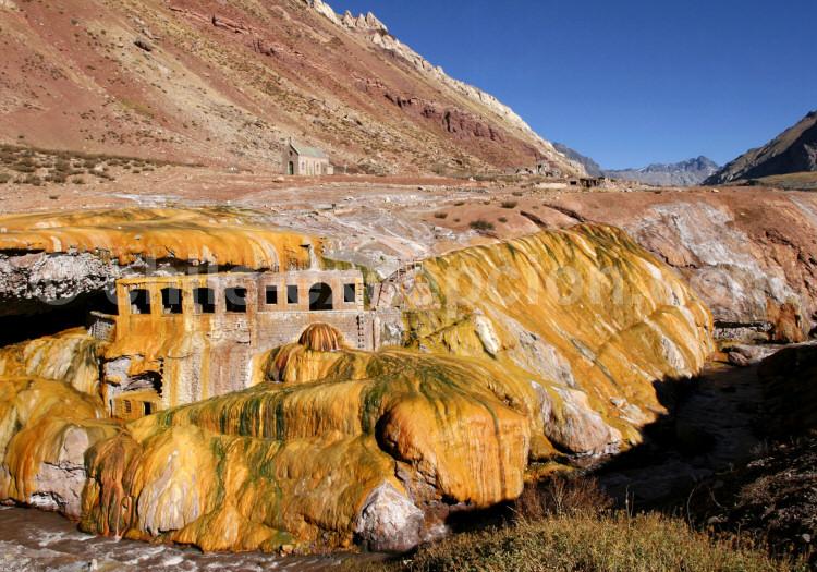 Traversée des Andes, Pont de l'Inca (2.720 m), Route 7, Argentine