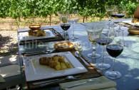 Déjeuner à la bodega Altus, Valle de Uco