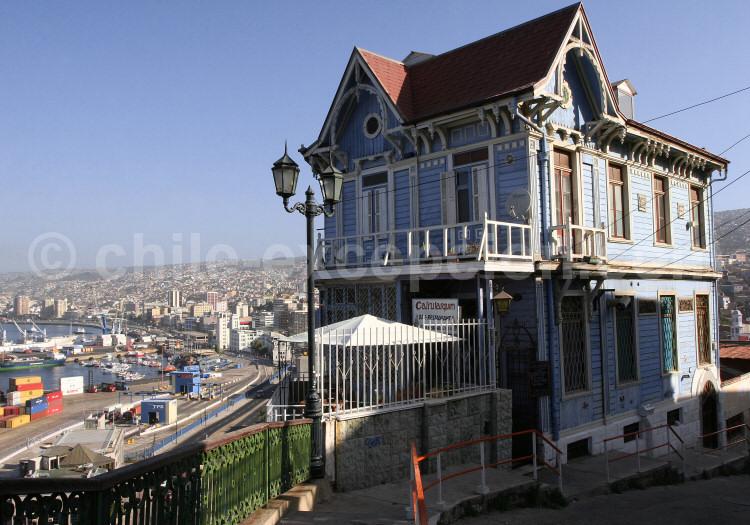 Paseo 21 de Mayo, Cerro Artillería, Valparaíso