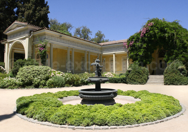 La Casona, ex résidence d'été de la famille Concha y Toro, Maipo