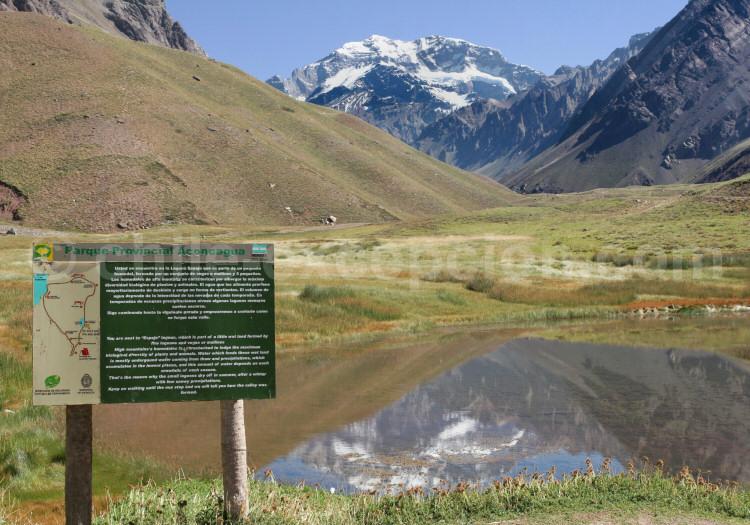 Aconcagua (6.962 m) entre Chili et Argentine, Route 7